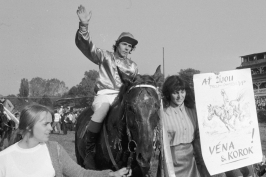 Korok byl můj osudový kůň, vzpomíná Chaloupka. Dnes už je Velká jiný dostih