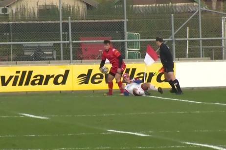 Ragbisté neuspěli ve Švýcarsku a přiblížili se sestupu do nižší divize ME