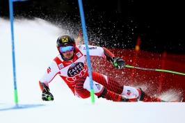 Stejný scénář už šest let. Hirscher s přehledem vyhrál obří slalom v Alta Badii