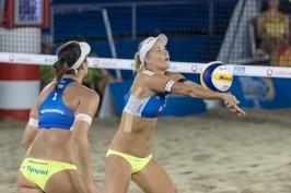 Hermannová a Nausch Sluková si v Hamburku zahrají semifinále, vyzvou Australanky