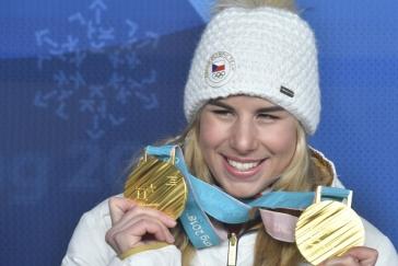 Ledecká mezi elitou, dvojnásobná olympijská šampionka je v nominaci na sportovního Oscara