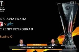 Sestřih utkání Slavia Praha - Zenit Petrohrad