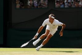 Federerova cesta skončila překvapivě už ve čtvrtfinále, Djokovič a Nadal jdou dál