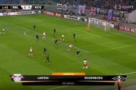 Sestřih utkání Lipsko – Rosenborg