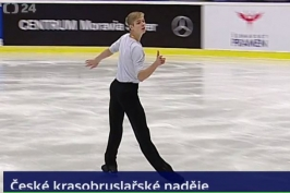 Nejlepší z Čechů na juniorské GP v Ostravě byl Jakubka