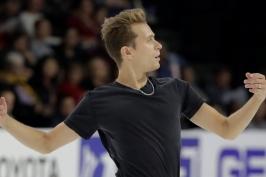 Březina ve finále Grand Prix po krátkém programu útočí na stupně vítězů