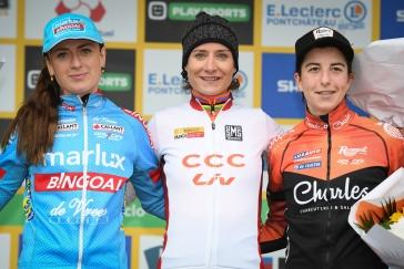 V Pont-Chateau triumfovala Vosová a zajistila celkové prvenství v SP v cyklokrosu