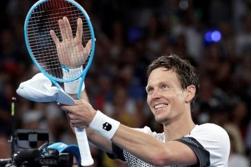 Berdych jede v Austrálii jako stroj. Postoupil do osmifinále, kde patrně narazí na Nadala