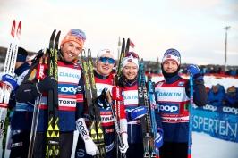 Štafetám v běhu na lyžích vládli Norové, Češi nestačili