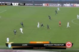 Sestřih utkání Lazio Řím – Eintracht Frankfurt