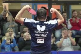 Ostravští stolní tenisté šokovali německého favorita