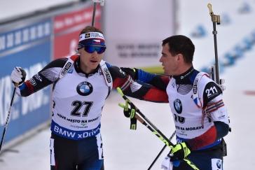 Protáhnou Rusové zlatou jízdu? Čeští biatlonisté vyráží do štafety s cílem nezklamat