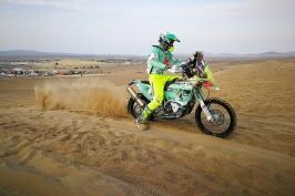Klymčiw senior: Užívám si Dakar lépe, když letos Ondra není na trati