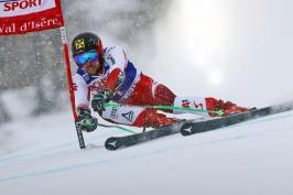 Hirscher pošedesáté! Rakouský fenomén vyhrál obří slalom ve Val d'Isere
