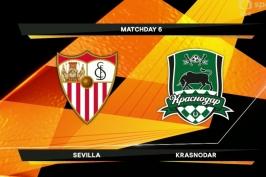 Sestřih utkání Sevilla - Krasnodar