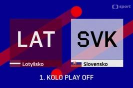 Sestřih utkání Lotyšsko - Slovensko