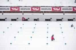 """Po """"jarní"""" Pokljuce sněhem zasypaný Hochfilzen. Byl to docela šok, říká Davidová"""