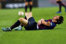 Real opět padl. Vaclíkovi dala Barcelona čtyři góly, ale přišla o Messiho