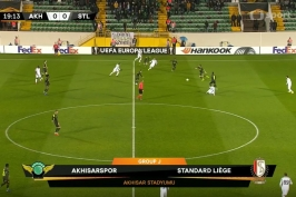 Sestřih utkání Akhisarspor – Lutych