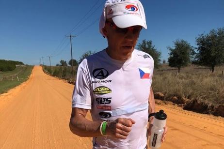 Posledních dvacet kilometrů bolel každý krok, řekl Vabroušek po MS v Ultramanu