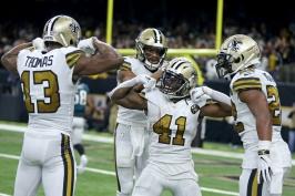 Saints uštědřili debakl Philadephii, Pittsburghu vyšla odplata proti Jaguars