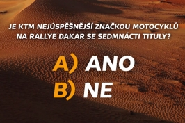 Soutěž Dakar 2019 – 15. 1.