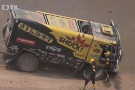 Macík byl na Dakaru vyloučen z hlavního závodu, přesto pokračuje