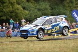 Rallye Příbram patří posedmé Pechovi. Díky triumfu je vicemistrem ČR