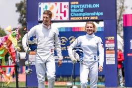 Přibylová s Polívkou skončili na MS pátí, šanci na medaili odvál úvodní šerm