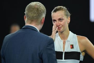 Kvitová se rozplakala dojetím. V cestě do finále ji teď čeká senzace: odvážná Collinsová