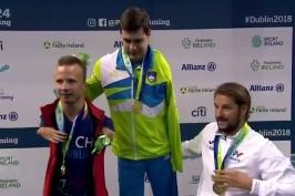 Plavec Petráček získal na ME handicapovaných zlato