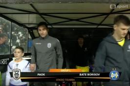 Sestřih utkání PAOK Soluň – BATE Borisov