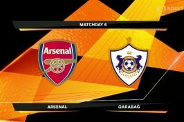 Sestřih utkání Arsenal - Karabach