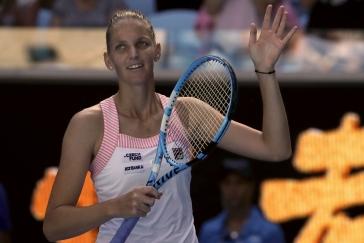 Plíšková smetla Muguruzaovou a zahraje si čtvrtfinále se Serenou, uspěly i Krejčíková se Siniakovou