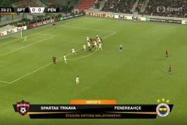 Sestřih utkání Spartak Trnava – Fenerbahce Istanbul
