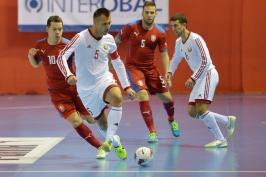 Čeští futsalisté se po roční odmlce vrátili na višegrádský trůn