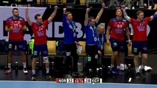 Sestřih utkání Norsko - Egypt