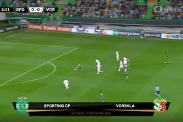 Sestřih utkání Sporting Lisabon – Vorskla