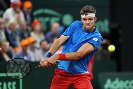 Baráž Davis Cupu v Maďarsku začne Veselý s teenagerem Pirosem