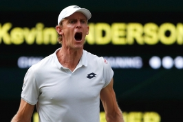 Anderson zvládl sedmihodinový maraton proti Isnerovi, Djokovič s Nadalem nedohráli