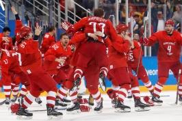Rusové dotáhli cestu za olympijským zlatem. Proti Němcům rozhodl v prodloužení Kaprizov