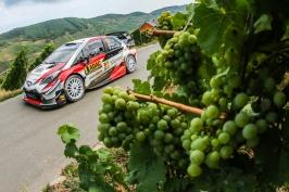 Kopecký v Německé rallye opanoval kategorii WRC2, celkový triumf obhájil Tänak