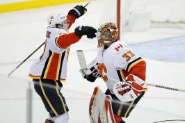 Klidně ať dostanu pět gólů, hlavní je pro mě výhra, řekla opora Calgary Rittich