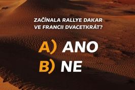 Soutěž Dakar 2019 – 17. 1.