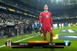 Sestřih utkání Besiktas Istanbul – Malmö