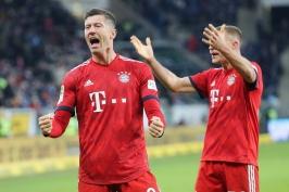 Bayern vstoupil do jarní části bundesligy vítězně, Dortmund jako první dobyl stadion Lipska