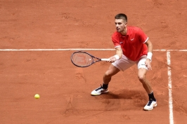 Vypadá to na krátký proces. Chorvaté vedou ve finále Davis Cupu nad Francií 2:0