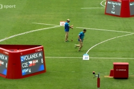 Češi skončili v hodu kuželkou za medailovými pozicemi