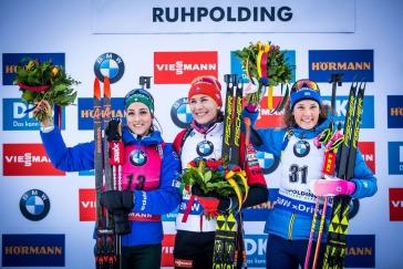 Krasojízdu Vittozziové přeťala Kuzminová. Češky ve sprintu v Ruhpoldingu vybouchly