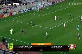 Sestřih utkání Larnaka – Leverkusen